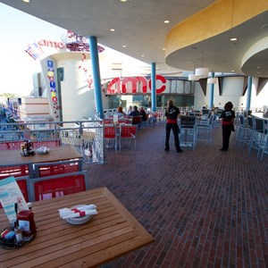 38 of 48: Splitsville - Splitsville upper level patio dining