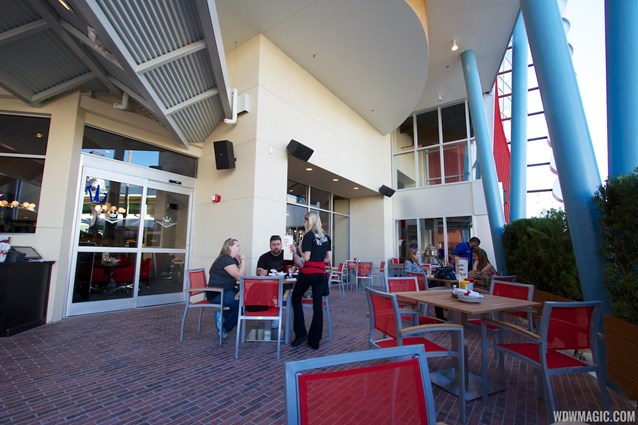 Splitsville - Splitsville lower level dining patio