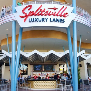 43 of 48: Splitsville - Splitsville lower level bar and dining patio