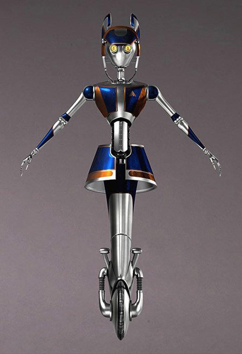 Star Tours II droids concept art