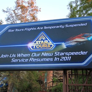 1 of 3: Star Tours - The Adventures Continue - Star Tours II coming soon poster