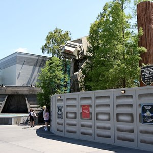 1 of 2: Star Tours - The Adventures Continue - Star Tours exterior color change