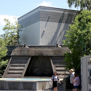 2 of 2: Star Tours - The Adventures Continue - Star Tours exterior color change