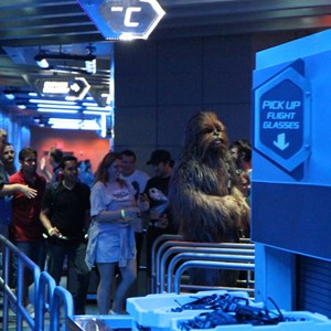 33 of 34: Star Tours - The Adventures Continue - Disney Parks Blog Star Tours meet up