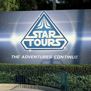1 of 1: Star Tours - The Adventures Continue - Star Tours - Studios bill board