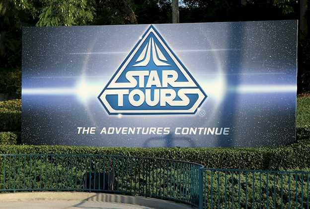 Star Tours - Studios bill board