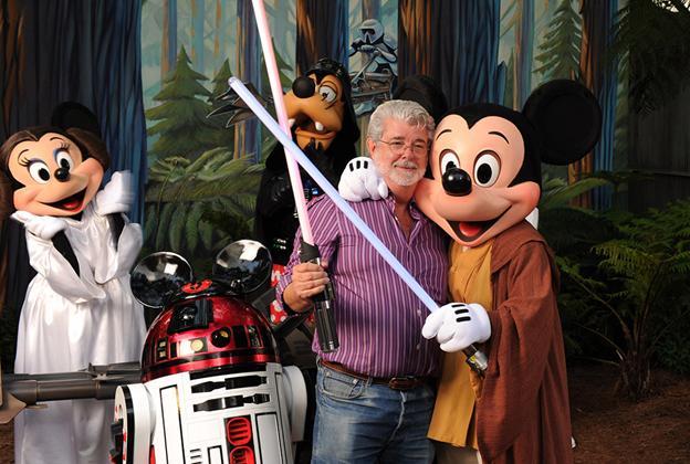 George Lucas visits the Studios as part of Last Tour to Endor event
