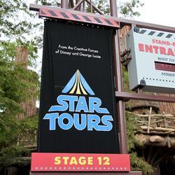 Star Tours walk through