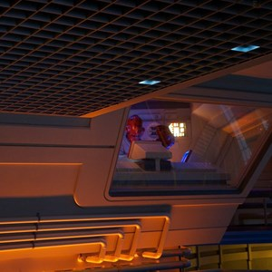 29 of 82: Star Tours - Star Tours walk through