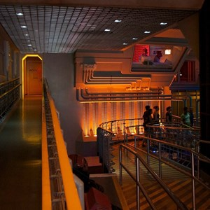 24 of 82: Star Tours - Star Tours walk through