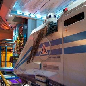 30 of 82: Star Tours - Star Tours walk through