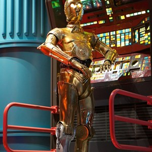 39 of 82: Star Tours - Star Tours walk through