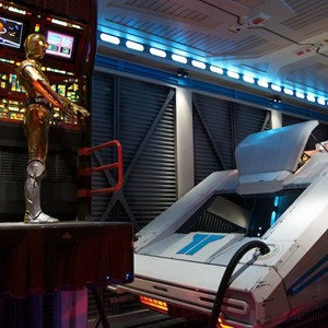 41 of 82: Star Tours - Star Tours walk through