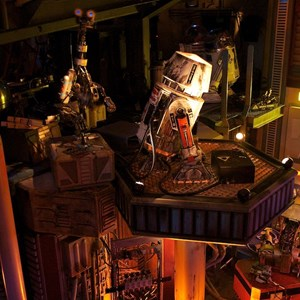 49 of 82: Star Tours - Star Tours walk through
