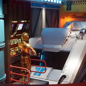 56 of 82: Star Tours - Star Tours walk through