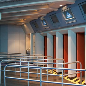 61 of 82: Star Tours - Star Tours walk through