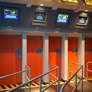 66 of 82: Star Tours - Star Tours walk through
