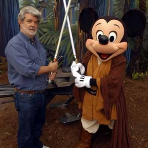 2 of 2: Star Tours - George Lucas visits WDW