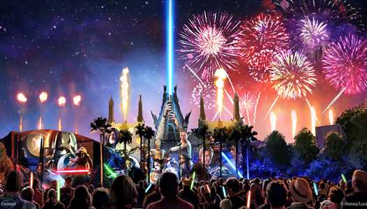 Showtimes now available for the return of 'Star Wars - A Galactic Spectacular'