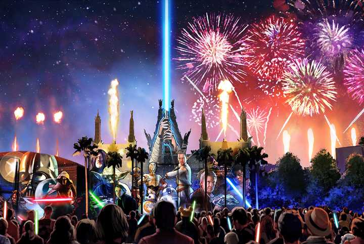'Star Wars: A Galactic Spectacular' dessert party moving to Star Wars Launch Bay