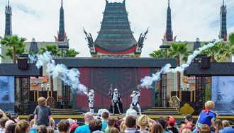 No performances of 'Star Wars - A Galaxy Far, Far Away' for the next week