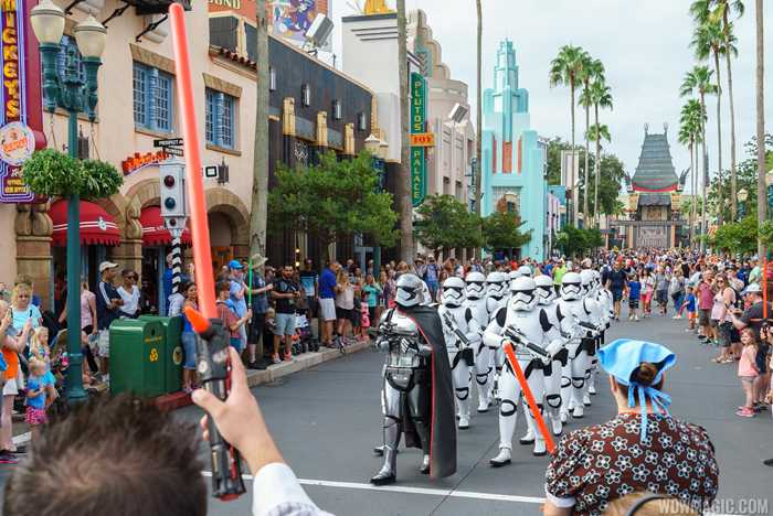 March of the First Order moves to Hollywood Blvd route