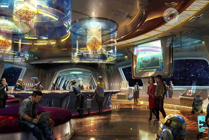 Star Wars Resort concept art