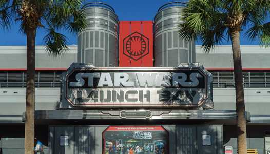 PHOTOS - Star Wars Launch Bay exterior complete ahead of tomorrow's opening