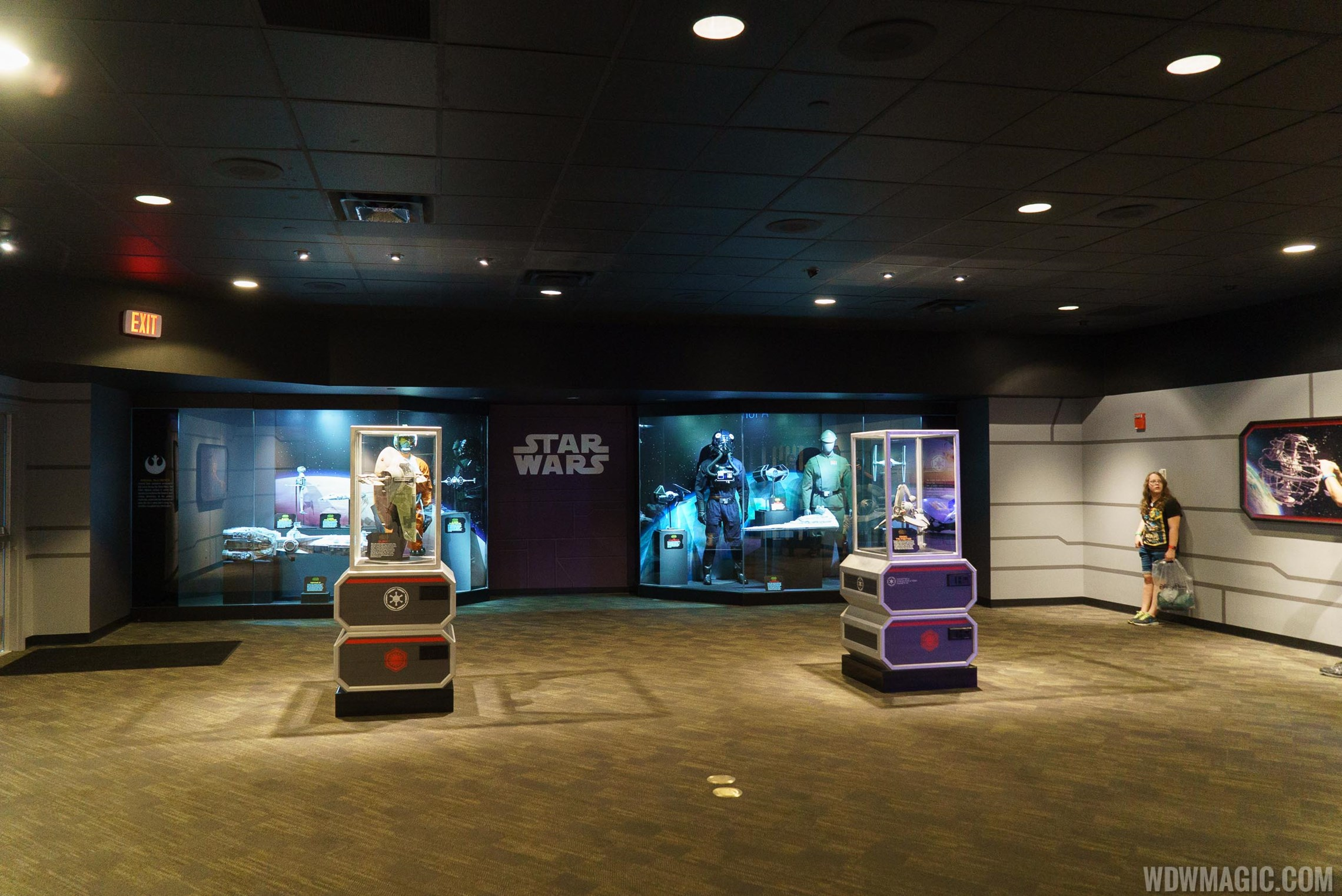 Star Wars Launch Bay opening day