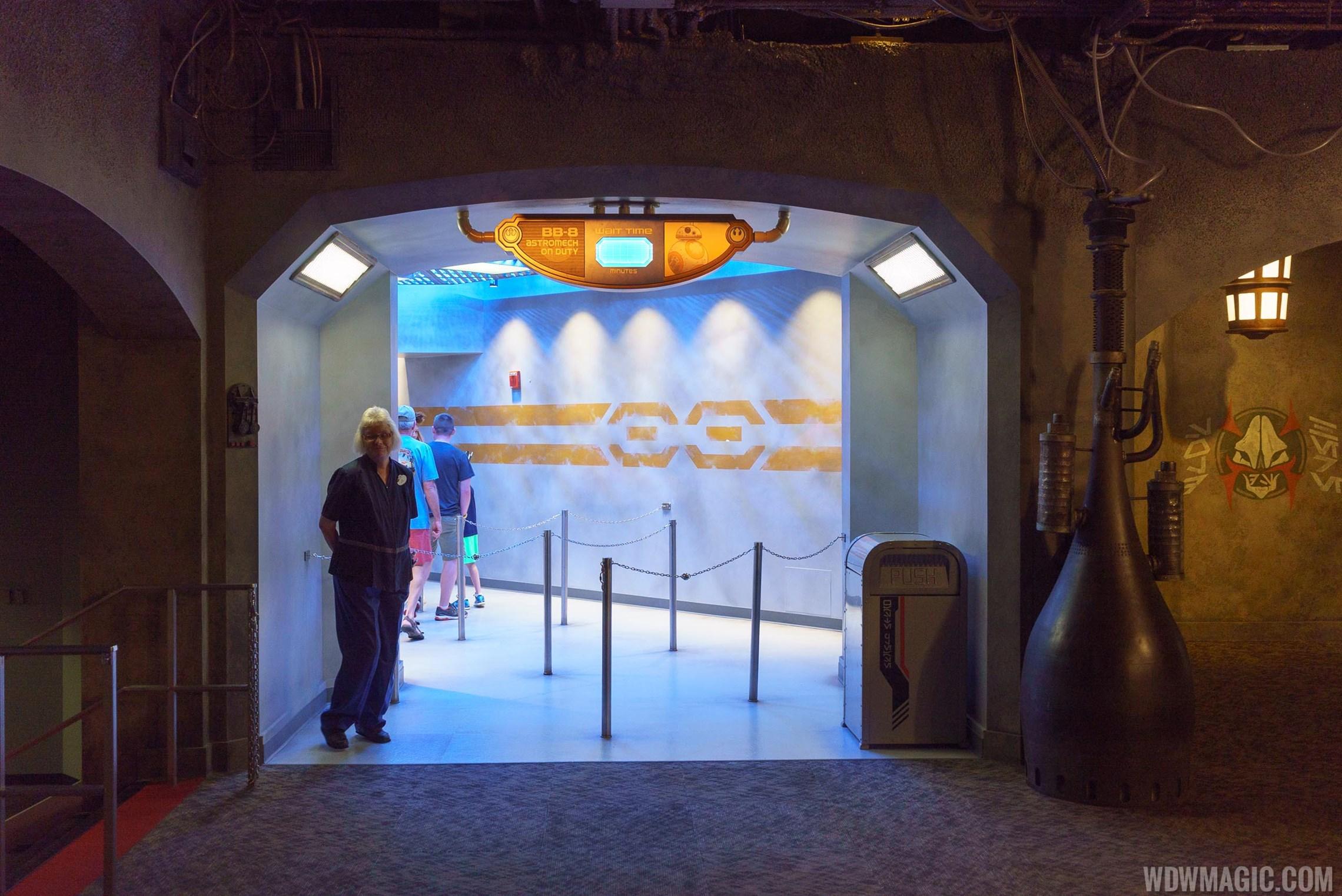 BB-8 meet and greet at Star Wars Launch Bay