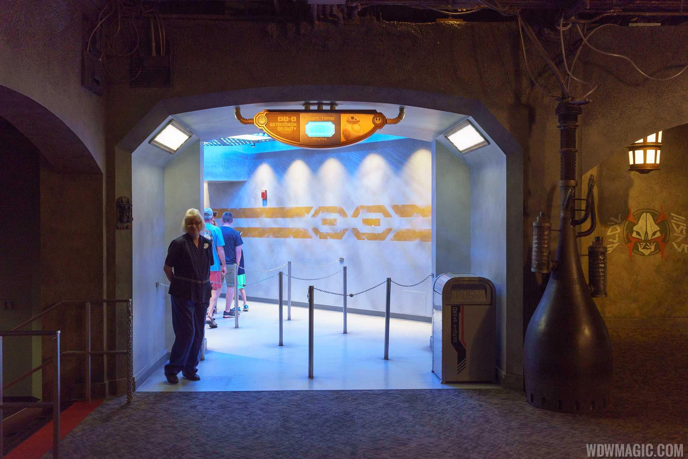 BB-8 meet and greet entrance