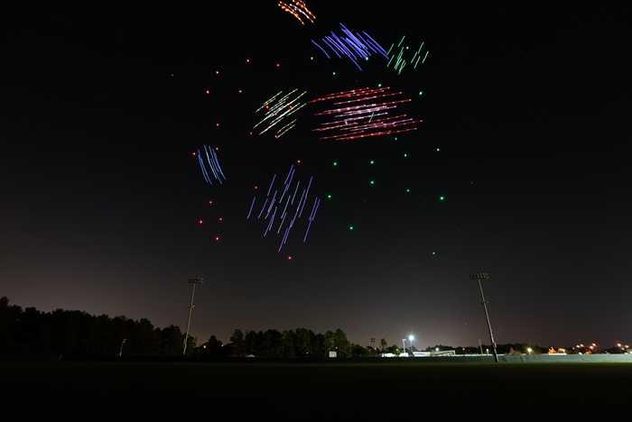Starbright Holidays Intel Drones