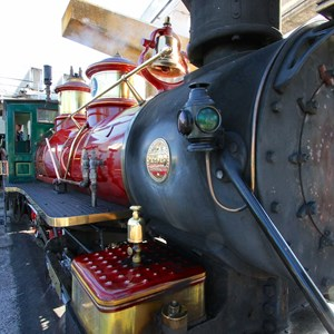 11 of 14: Disney's The Magic Behind Our Steam Trains - Disney's The Magic Behind Our Steam Trains tour - The Roy O Disney train