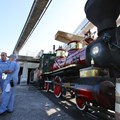 Disney's The Magic Behind Our Steam Trains Tour - Disney's The Magic Behind Our Steam Trains tour - The Roy O Disney and engineers