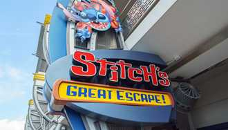 Stitch's Great Escape! moves to seasonal operation