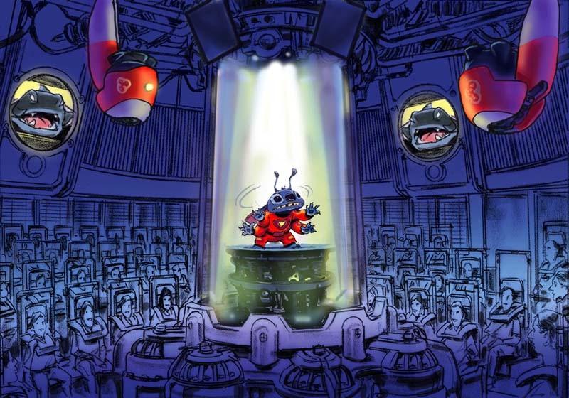 Stitch S Great Escape Concept Art Photo 1 Of 1