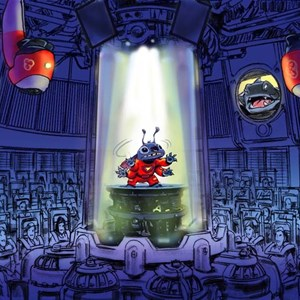 1 of 1: Stitch's Great Escape! - Stitch's Great Escape! concept art