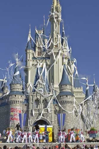 Opening day castle invasion