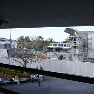 4 of 6: Stitch's SuperSonic Celebration - Stitch's SuperSonic Celebration construction photos