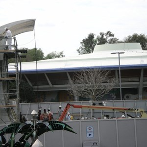 1 of 4: Stitch's SuperSonic Celebration - Stitch's SuperSonic Celebration construction photos