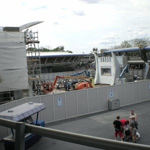 2 of 4: Stitch's SuperSonic Celebration - Stitch's SuperSonic Celebration construction photos