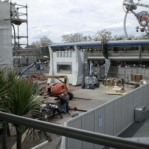 3 of 4: Stitch's SuperSonic Celebration - Stitch's SuperSonic Celebration construction photos