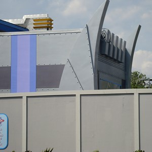 7 of 9: Stitch's SuperSonic Celebration - Stitch's SuperSonic Celebration construction photos