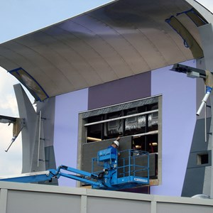 8 of 9: Stitch's SuperSonic Celebration - Stitch's SuperSonic Celebration construction photos