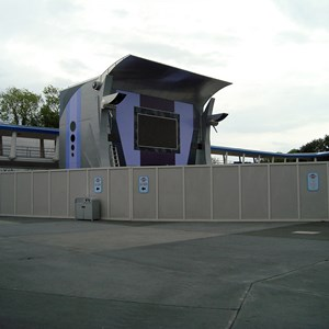 1 of 6: Stitch's SuperSonic Celebration - Stitch's SuperSonic Celebration construction photos