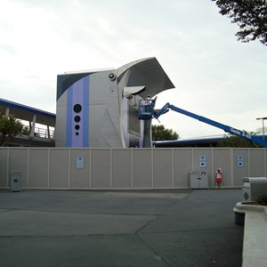 5 of 6: Stitch's SuperSonic Celebration - Stitch's SuperSonic Celebration construction photos