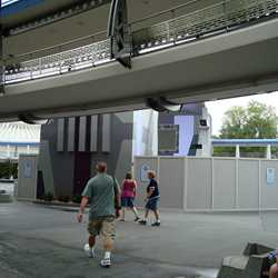 Stitch's SuperSonic Celebration construction photos