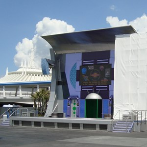 2 of 2: Stitch's SuperSonic Celebration - Stitch's SuperSonic Celebration stage refurbishment