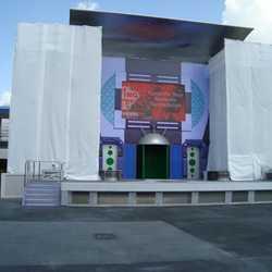Stitch's SuperSonic Celebration stage refurbishment