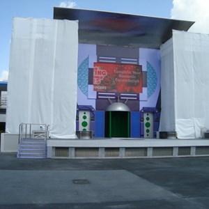 4 of 4: Stitch's SuperSonic Celebration - Stitch's SuperSonic Celebration stage refurbishment